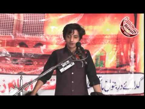 Zakir Ali Askri at 27 Chak (FSD) 6 Safar 2016 Rec by Classic Movies Bhowana