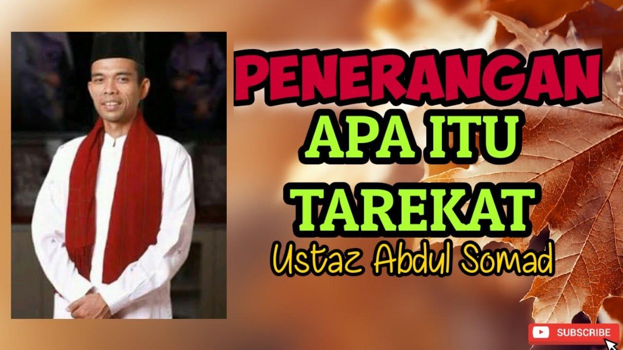 PENERANGAN APA ITU TAREKAT | USTAZ ABDUL SOMAD - YouTube