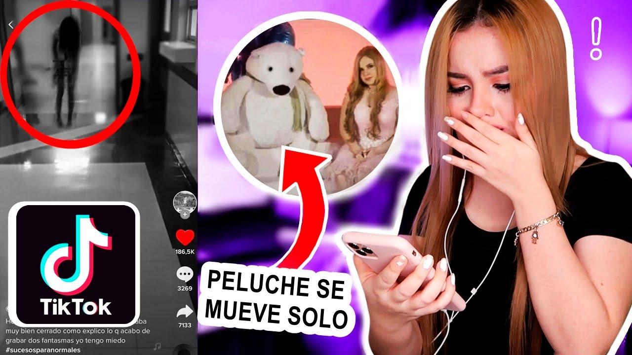 REACCIONANDO A FANTASMAS DE TIKTOK / Digo la verdad del fantasma de mi vídeo