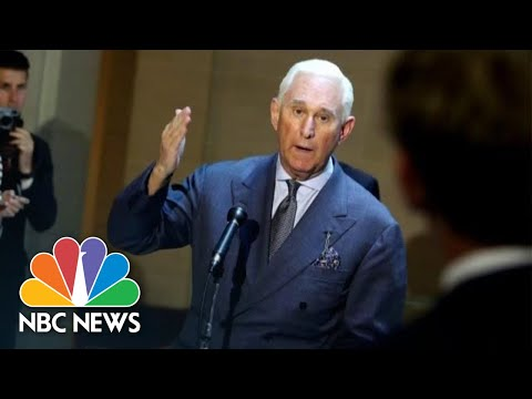 Judge Gives Roger Stone 'Tongue -Lashing' Before Sentencing Him To 40 Months In Prison | NBC News