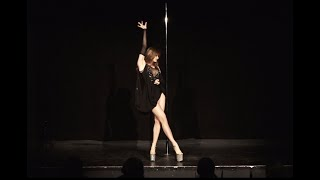 Sasha Romanova - Pole Dance Competition Denmark