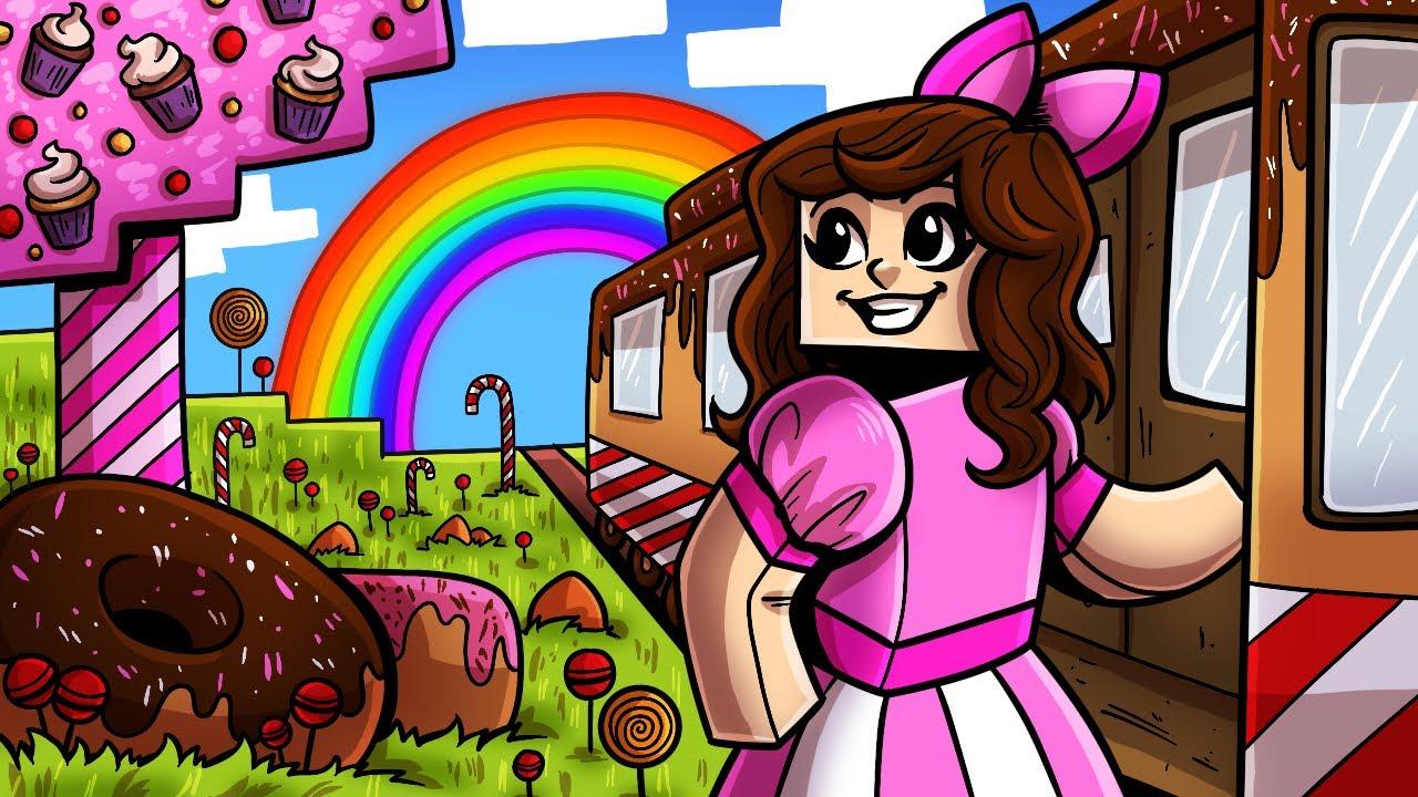 Download Minecraft: WE FOUND CANDY LAND!!