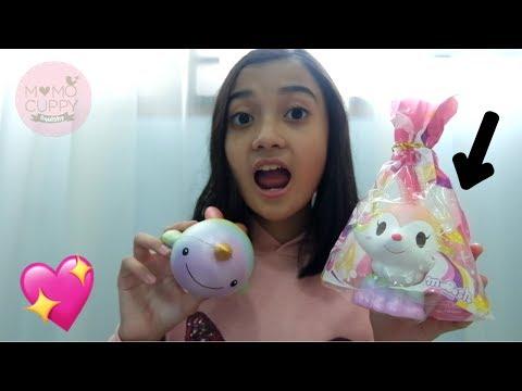 Rainbow Foxy Fox udah ada di Indonesia ?!?! Package from @momocuppy_squishy | Friendship DIY