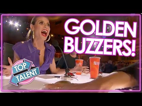 TOP GOLDEN BUZZER AUDITIONS On America's Got Talent 2017 | Top Talent