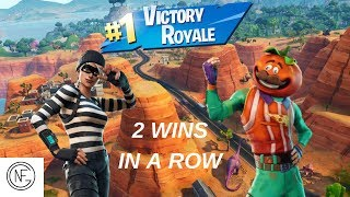Ade and Corn WIN 2 GAMES IN A ROW! Fortnite Battle Royale: GETAWAY LTM