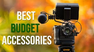 5 BUDGET VIDEO ACCESSORIES FOR SONY a6300 & a6500!! 2018