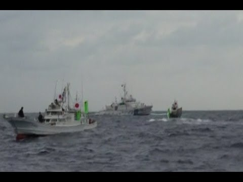 China Scares off Japan Flotilla Near Disputed Islands