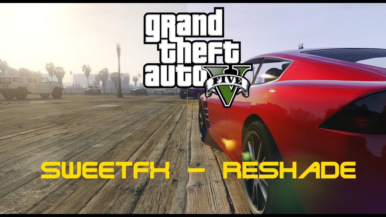 GTA 5 : Améliorer les Graphismes de GTA V avec Reshade/SweetFx