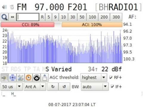 Test BH Radio 1 @ Bosnia Hertegovina in Craiova RO