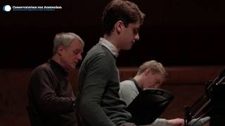 Aidan Mikdad and Ramon van Engelenhoven soloists in Poulenc's Concerto for two pianos thumbnail