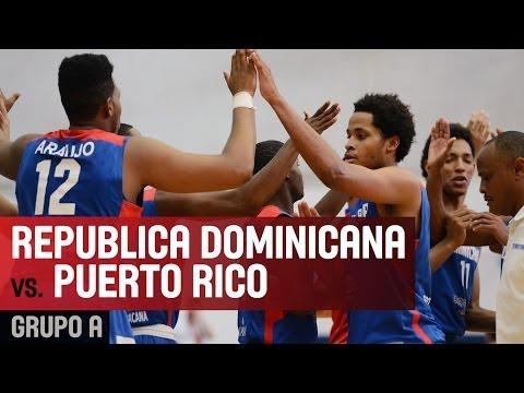 Puerto Rico v Dominican Republic - Group A - 2014 FIBA Americas U18 Championship for Men