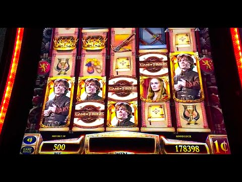 "NEW ""GAME OF THRONES"" Slot (MANY FEATURES) - DEMO @ G2E ..."
