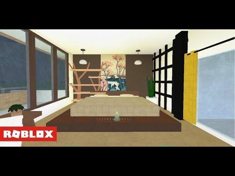 Welcome to Bloxburg - Japanese Modern House Speedbuild