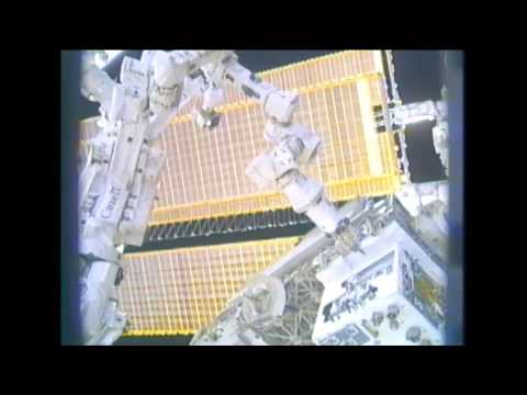 Space Station Live: Servicing Satellites in Space