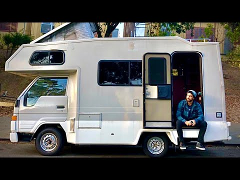 VANLIFE | Full Tour Toyota HiAce Diesel RV Motorhome Camper Conversion