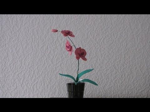 Мастер класс: орхидея Лелия Осенняя из фоамирана