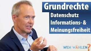 Datenschützer Stefan Brink (LfDI BaWü): DSGVO, Grundrechte, Datenschutz, Informationsfreiheit