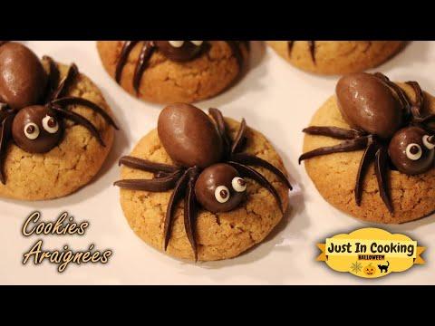 recette-de-cookies-araignées-pour-halloween