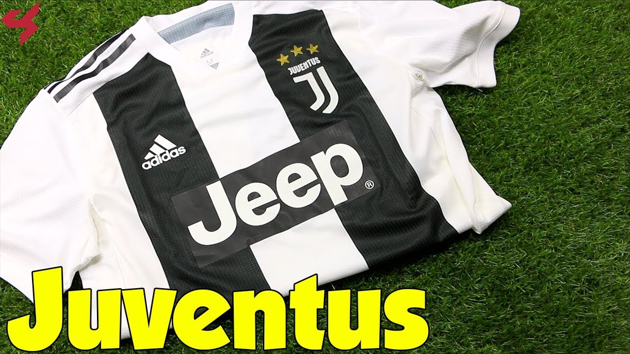 buy popular 315f8 7cafe Adidas Juventus 2018/19 Home Jersey Unboxing + Review