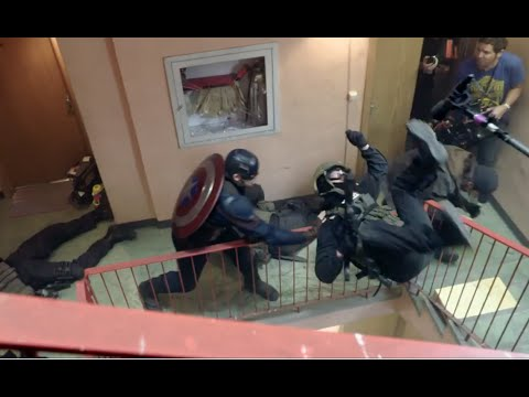 Captain America: Civil War: The Fights Blu-ray Bonus Feature