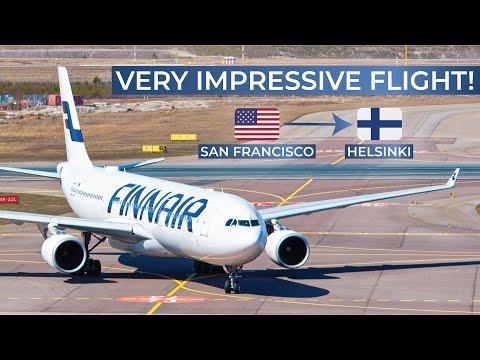 TRIPREPORT | Finnair (ECONOMY) | San Francisco - Helsinki | Airbus A330-300