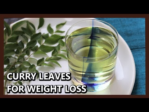 Quick Weight Loss with Curry Leaves Tea | Herbal Weight Loss Drink | Benefits of Curry Leaves