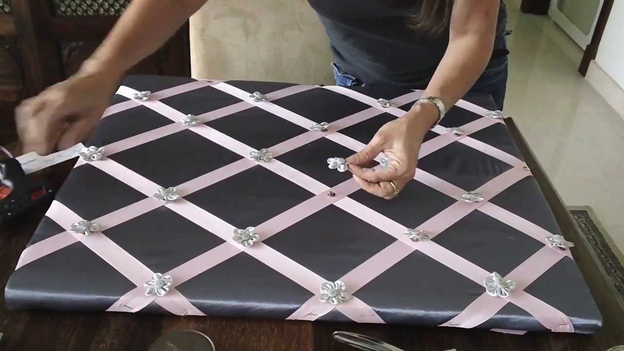 craft series diy memory board a mother 39 s day gift youtube. Black Bedroom Furniture Sets. Home Design Ideas