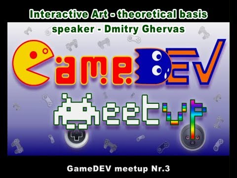 Interactive Art - theoretical basis for beginners (by Dmitry Ghervas)