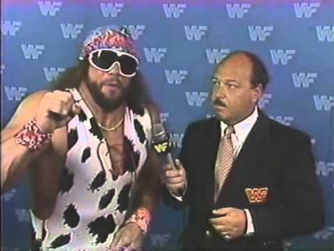 Macho Man Randy Savage Interview (07-12-1987)