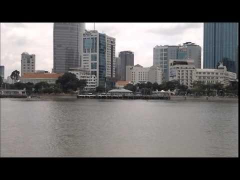 Ho Chi Minh City, Saigon, Ben Nghe River, Bach Dang Harbor