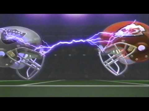 Monday Night Football Opening Promo 1992 WVUE CH8 New Orleans