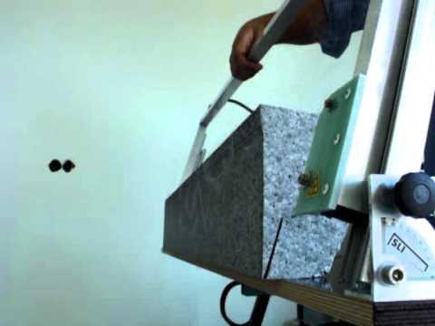 kaltschaum styropor wird geschnitten mit hei em draht doovi. Black Bedroom Furniture Sets. Home Design Ideas