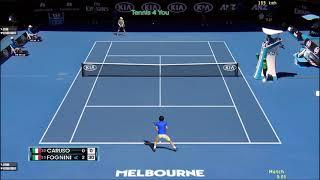 Fabio Fognini vs Salvatore Caruso Match highlights (2R)   Australian Open 2021 Day 4 highlights