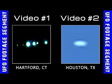 UFO SIGHTINGS • 2 Videos • Hartford CT • Houston TX