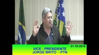 Pronunciamento Jorge Brito 21 10 16