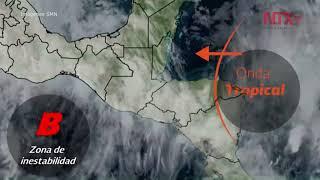 Bud se degrada a tormenta tropical frente a las costas de Jalisco
