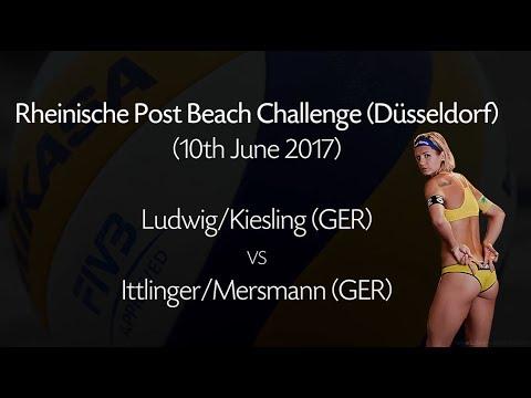 Rheinische Post Beach Challenge - Ludwig/Kiesling vs Ittlinger/Mersmann