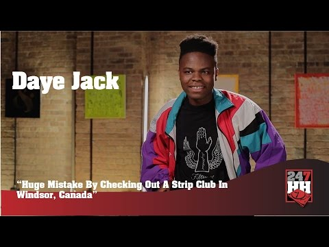 Daye Jack - Huge Mistake By Checking Out A Strip Club In Windsor, Canada (247HH Wild Tour Stories)