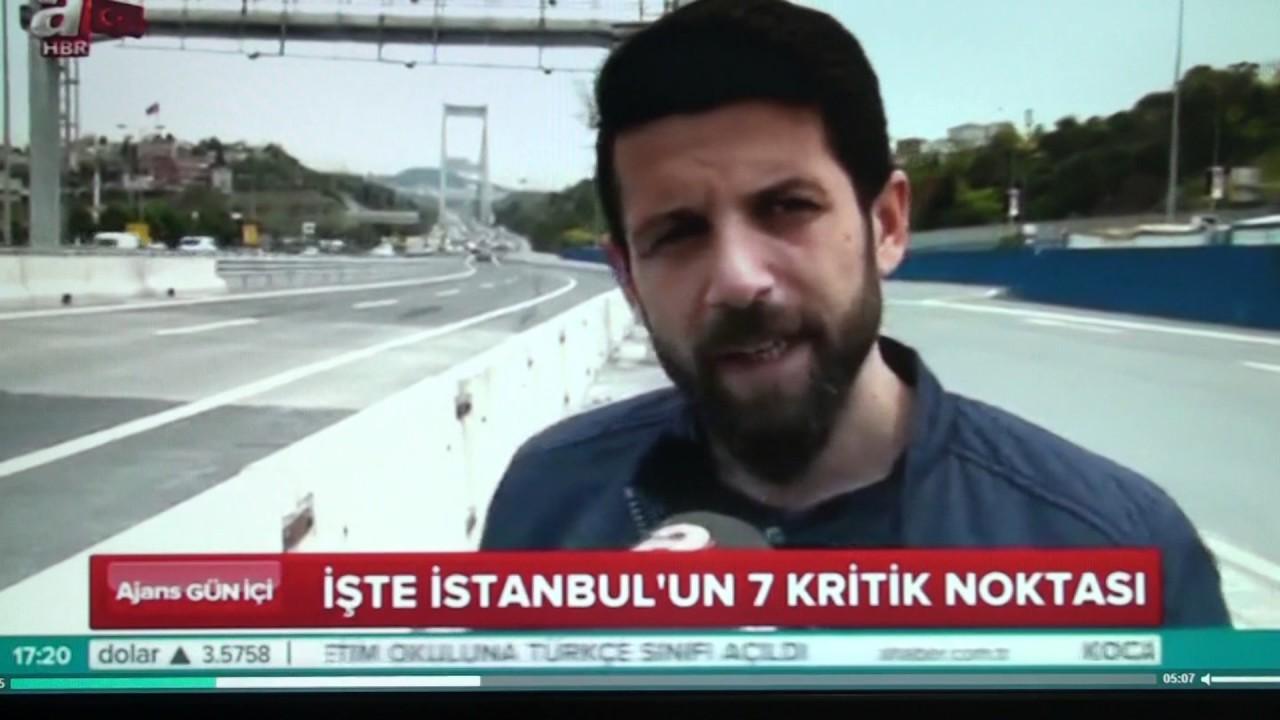 Nihat Gültekin - A-haber İstanbulun Trafik Kaza Haritası Haberi 12.05.2017