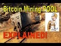 Bitcoin MINING POOL EXPLAINED!