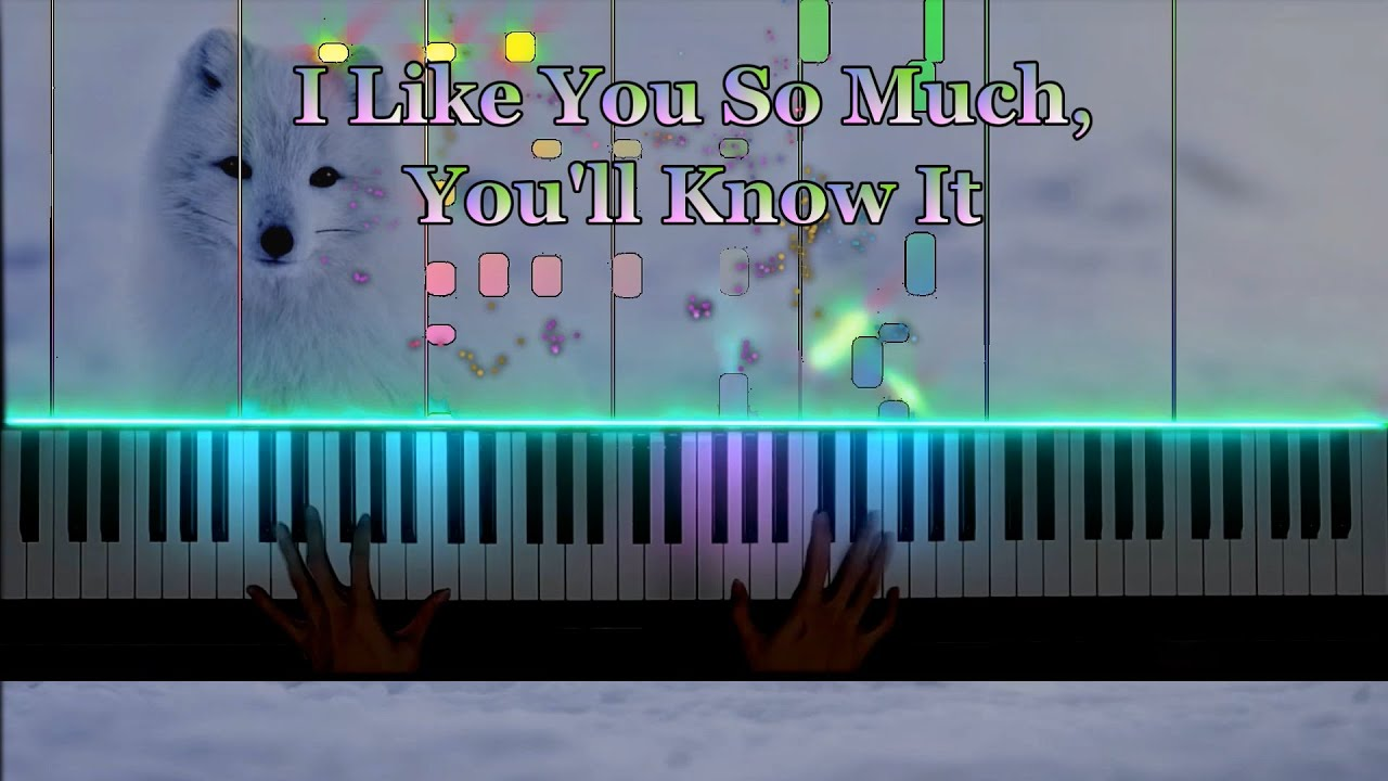 I Like You So Much You'll Know It (我多喜欢你, 你会知道) - 王俊琪 (Piano Cover)