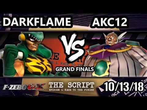The Script -  Darkflame [L] Vs.  AKC12 - F-Zero GX Grand Finals