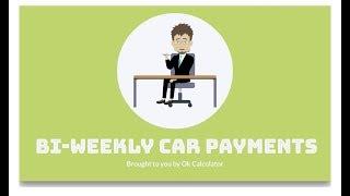 simple interest loan calculator bi weekly payments