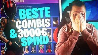 BEST SKIN COMBINS+3000€ SPIND?! +TOURNAMENT!!| Fortnite Battle Royale