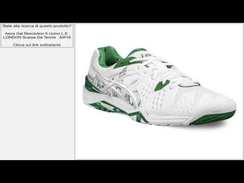 Resolution Tennis LONDON AW16 Asics Scarpe Da E Uomo L Gel 6 UYqz5S
