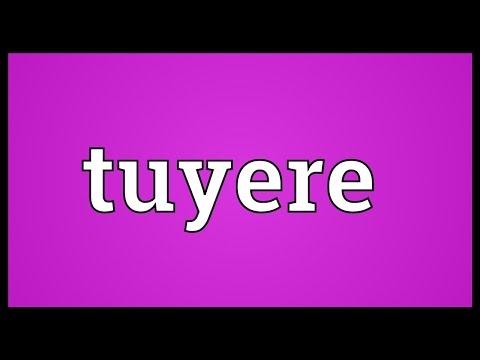 Header of tuyere