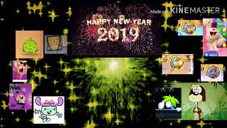 Happy new year in 2019 for the episode of goanimate