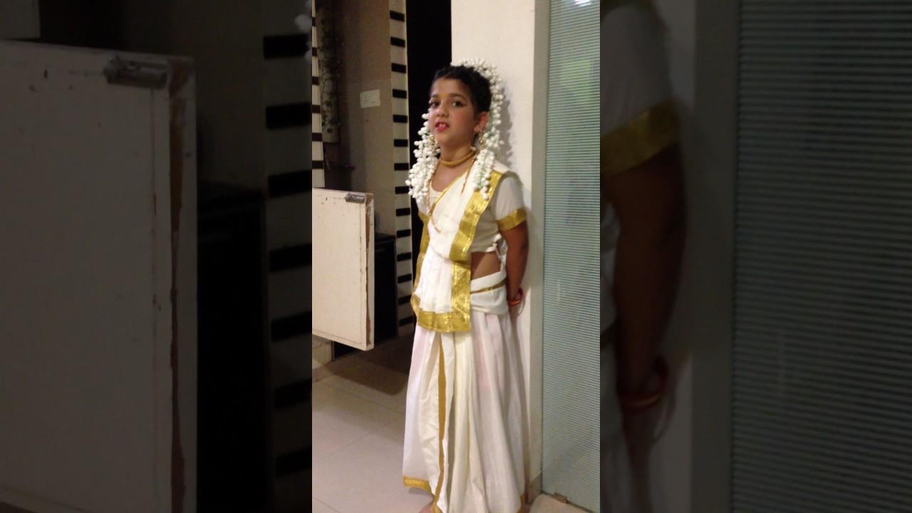 Fancy dress pictures in kerala simple
