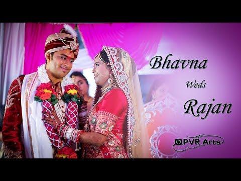 Best Cinematic Wedding Highlights | Bhavna Weds Rajan | By PVR Arts