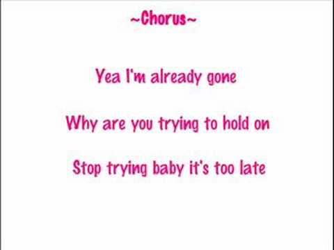 Girlicious - Already Gone w/ Lyrics